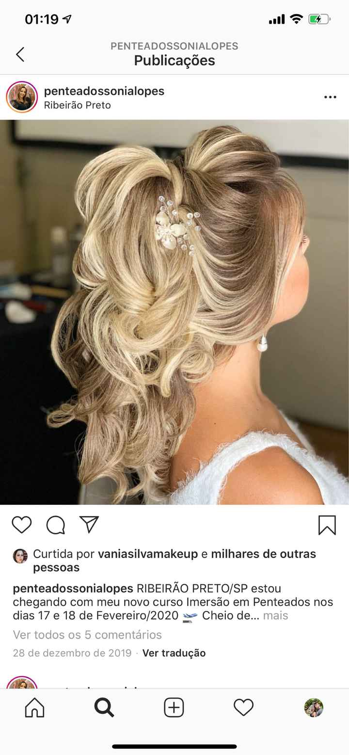 Cabelo da noiva - 1