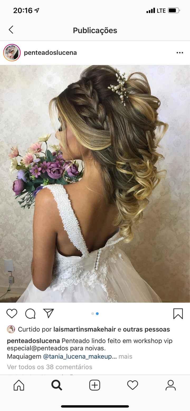 Cabelo da noiva - 2