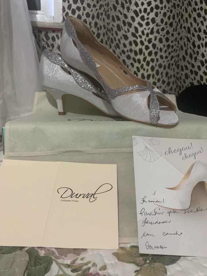 Sapato da Noiva - 2