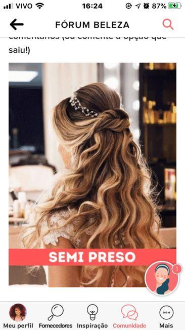 TIRE UM PRINT para decidir o penteado 10