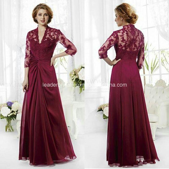 439cf75b131b31 Vestido da mãe noiva - 1
