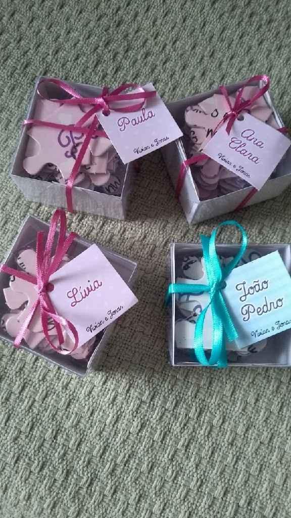 Convite das daminhas e pajens chegou #vemver 👰🏻 - 1