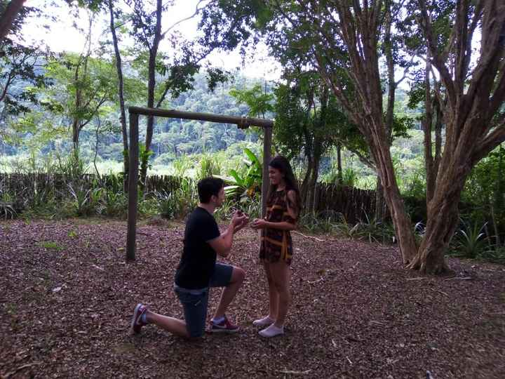 o pedido de casamento (finalmente) aconteceu! #vemver 👰🏻💍 - 1