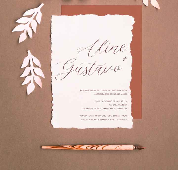 Convites e papelaria - 1