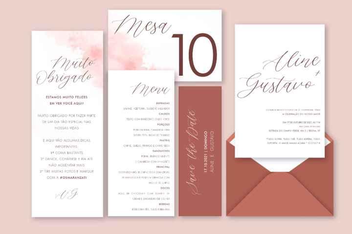 Convites e papelaria - 2