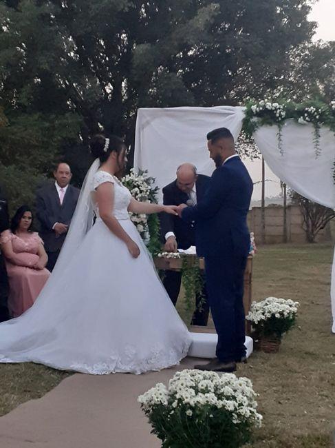 Casei e foi tudo perfeito 😍😍😍 - 6
