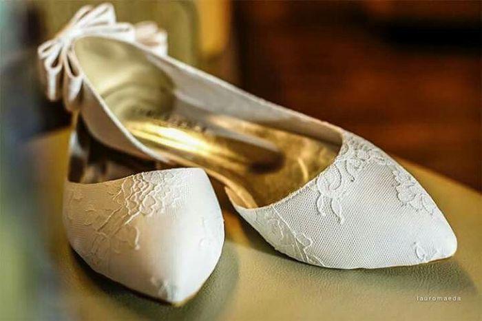 f7378d012 Sapatos para casar na grama - 1