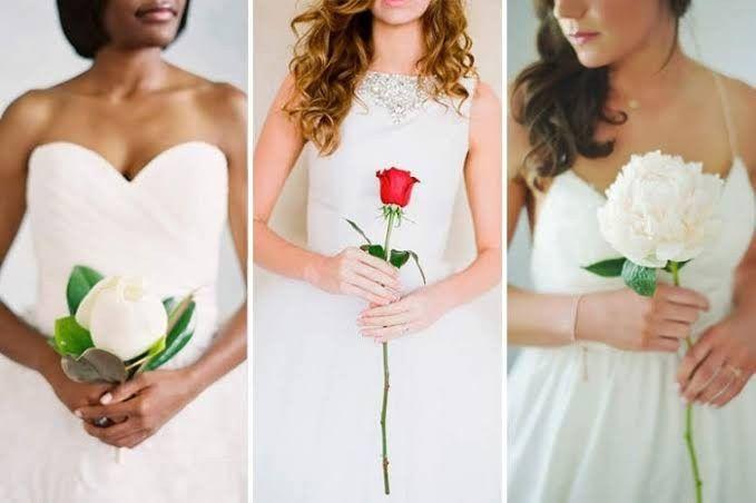 Casar sem buquê 👀 5
