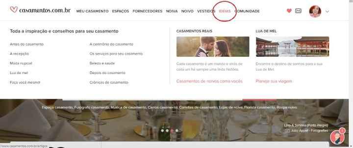 Já conhece os Artigos do Casamentos.com.br? Se ainda não, deveria! #helpcarol - 1