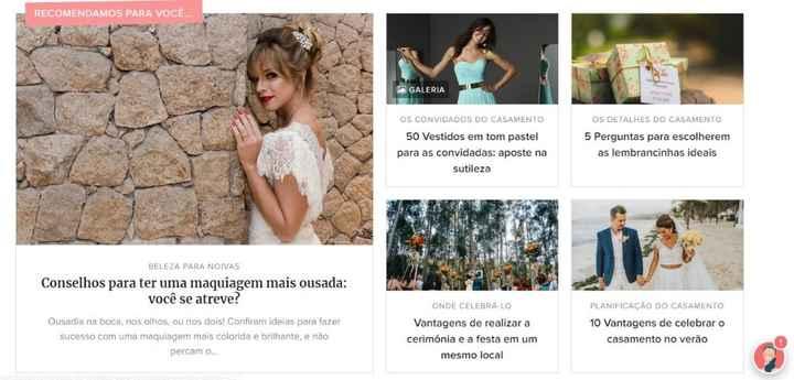 Já conhece os Artigos do Casamentos.com.br? Se ainda não, deveria! #helpcarol - 3