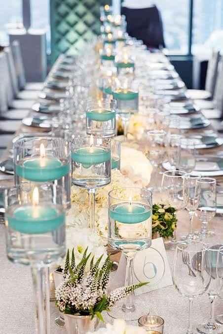 Casamento de dia: decoração com velas fica legal? - 1