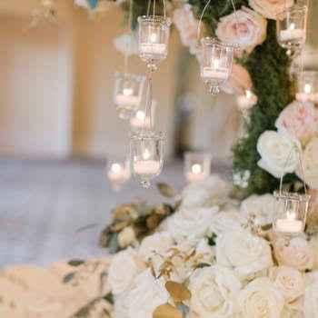 Casamento de dia: decoração com velas fica legal? - 2
