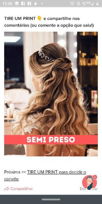 TIRE UM PRINT para decidir o penteado 15