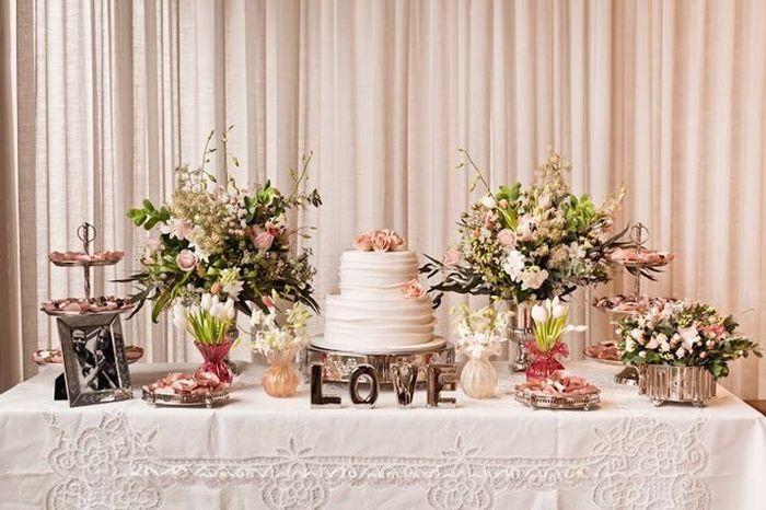 Decoraç u00e3o Jantar Casamento Civil