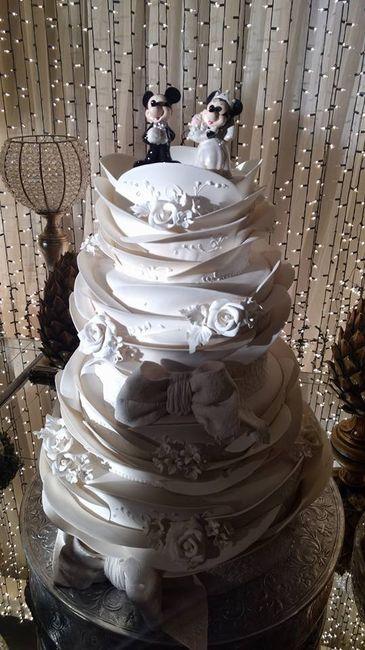 O bolo - Mais lindo de todos ♥