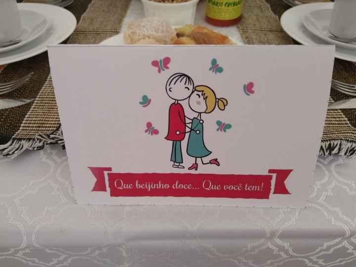 1° mês de casados: bodas de beijinhos - 6