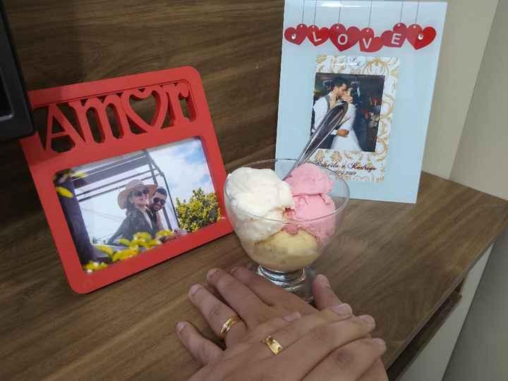 2 meses de casados: bodas de sorvete - 1