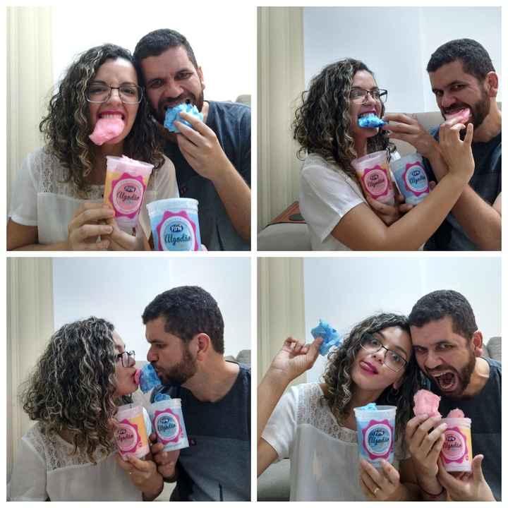 3 meses de casados: bodas de algodão doce - 2