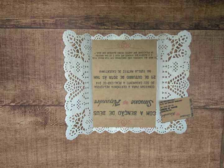 Convites do casamento - 1