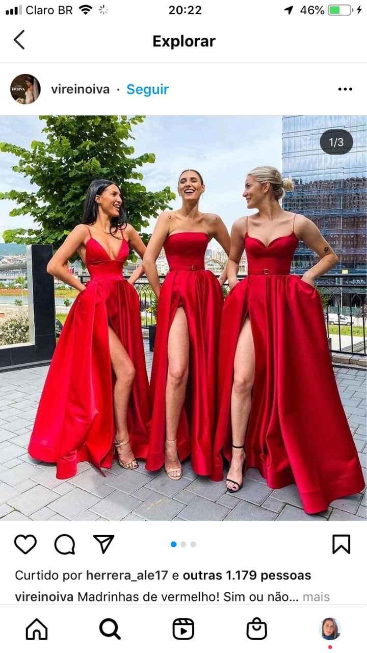 Quais cores para vestidos das mães dos noivos? - 1