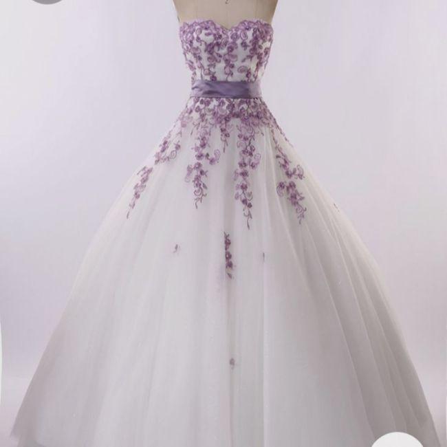Vestido roxo #diadamulher - 2