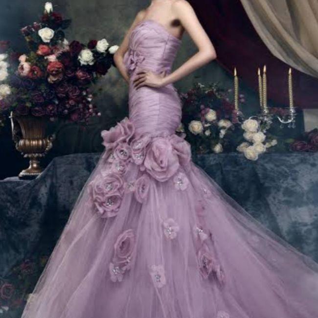 Vestido roxo #diadamulher - 7