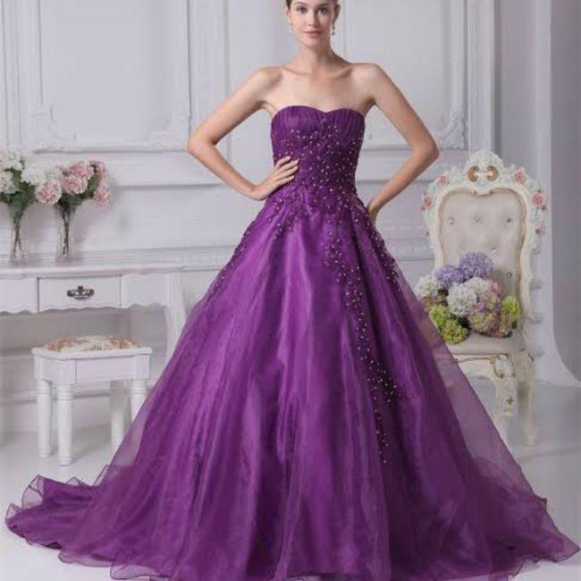 Vestido roxo #diadamulher - 10