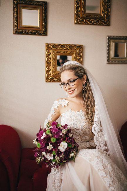 Noiva de óculos de grau: sim ou não? 3