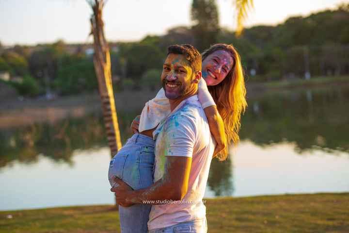 Ensaio fotográfico Holi Powder (pó colorido): Muitas cores para celebrar o amor - 2