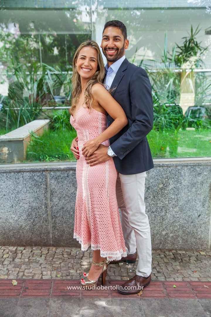 Nosso casamento civil em fotos - 1