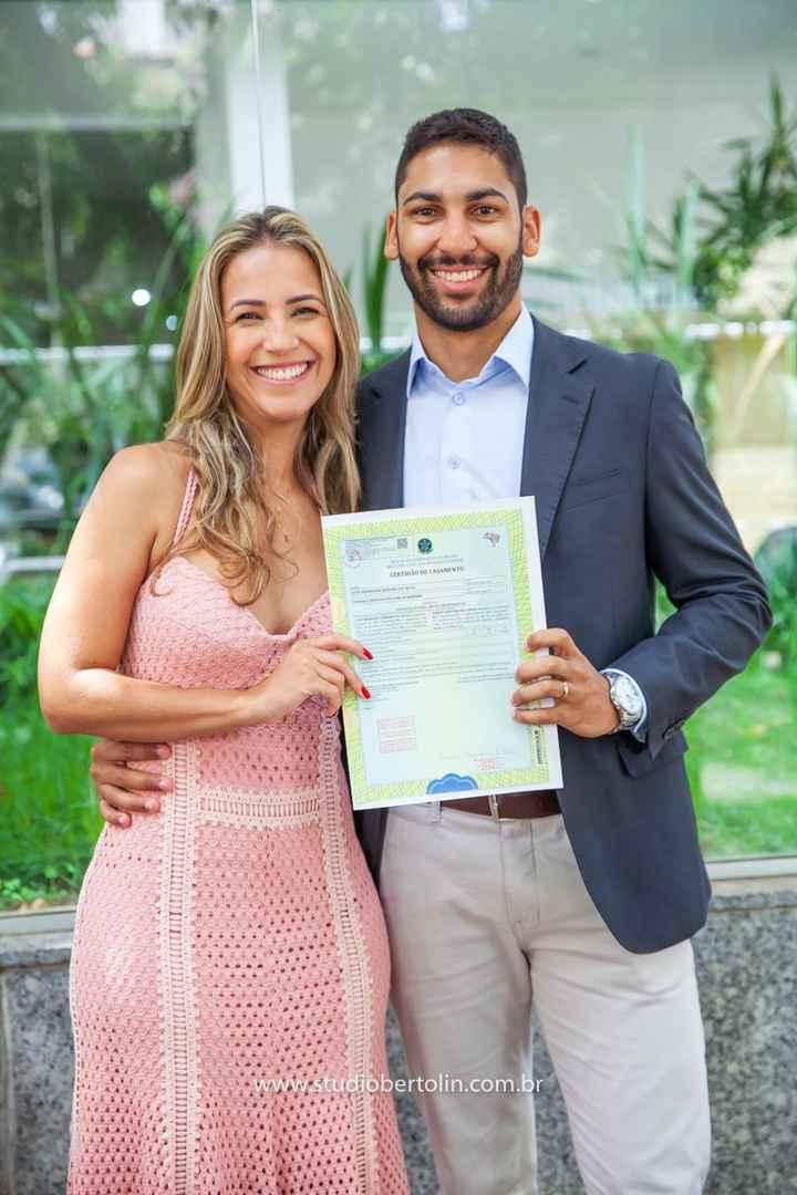 Nosso casamento civil em fotos - 4