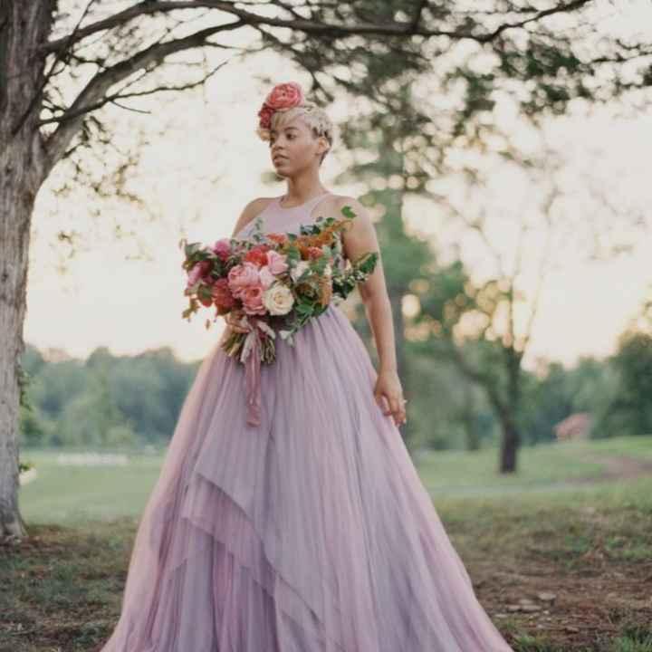 Vestido roxo #diadamulher - 1