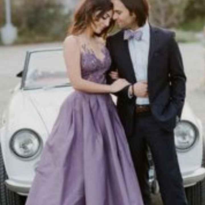 Vestido roxo #diadamulher - 5