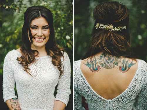 Noiva com pierciengs e tatuagens, vale? - 4