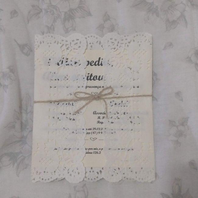 Convites de casamento - 4