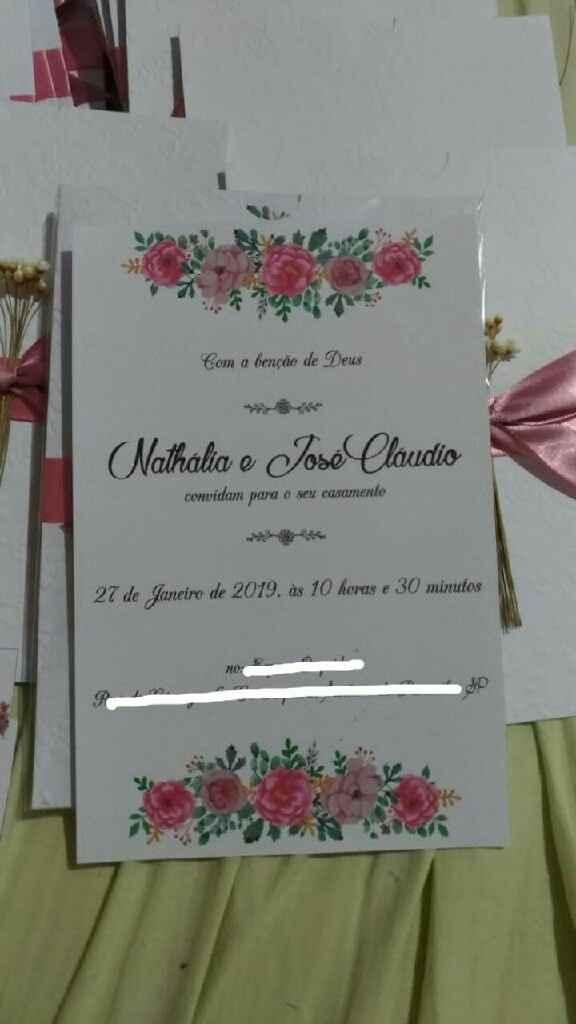 Confecção do convite - 4