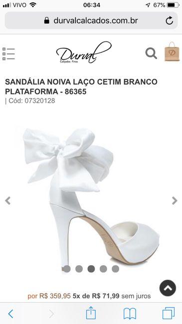 237c2e342c Dúvida Cruel ... qual sapato escolher ❣ 2