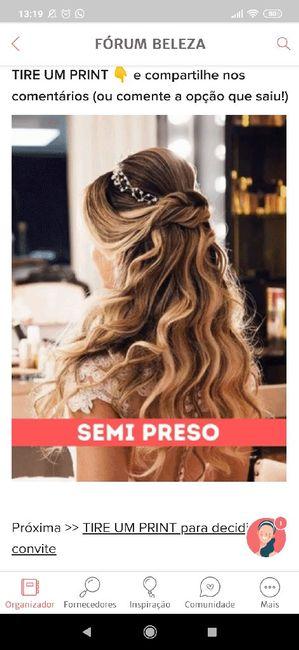 TIRE UM PRINT para decidir o penteado 18