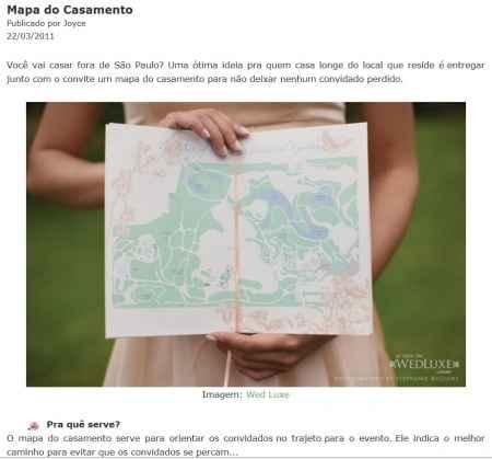 Mapa: como chegar?