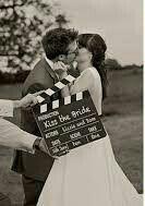 Inspiração casamento com tema cinema - 1