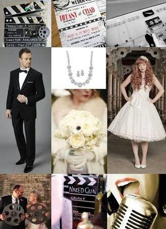 Inspiração casamento com tema cinema - 12