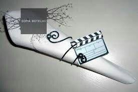 Inspiração casamento com tema cinema - 15
