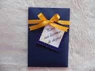 Convite azul e amarelo - 5