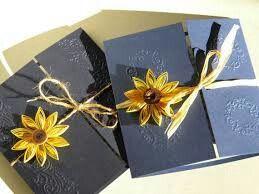 Convite azul e amarelo - 7