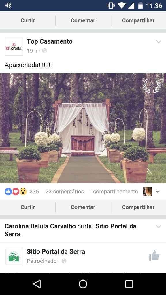 Casamento em sítio - 2