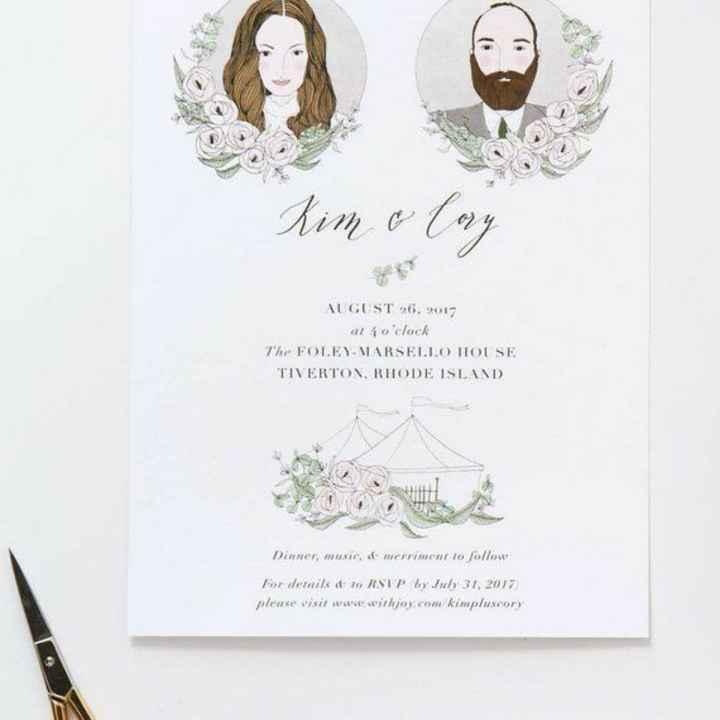 Como será seu convite de casamento? - 1