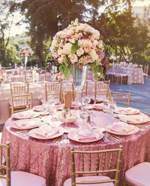 Resultado de imagem para dourado com rosa decoração
