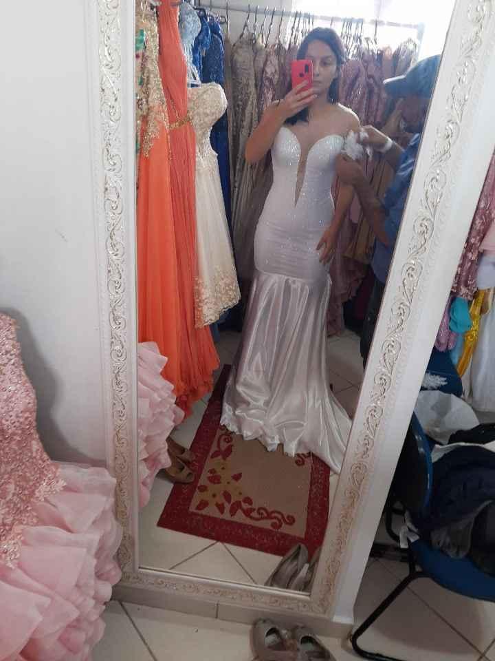 a construção do meu sonho de vestido - 1