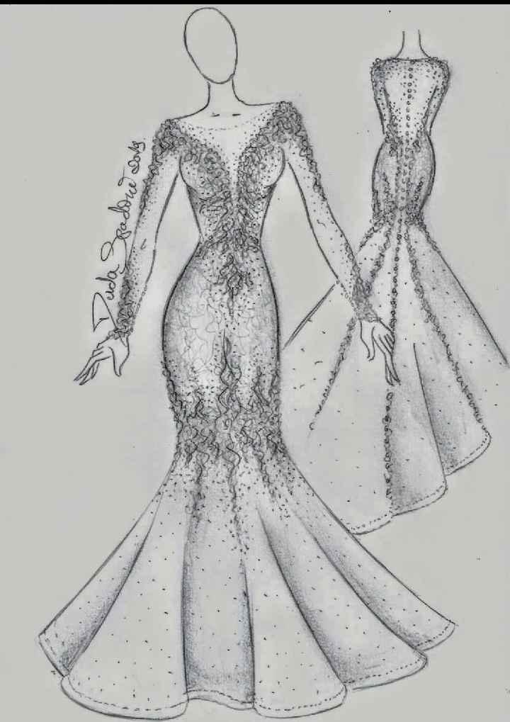 a construção do meu sonho de vestido - 2