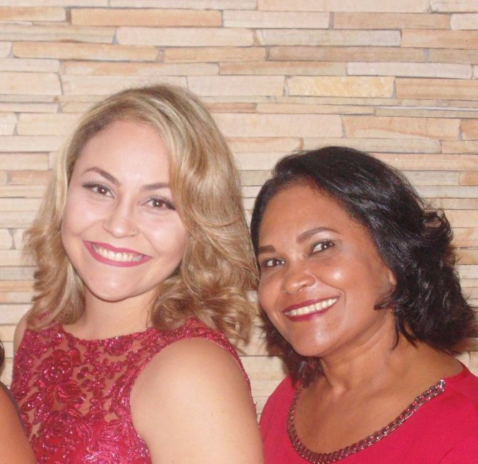 Minha mãe amiga!